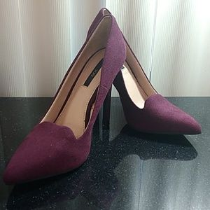Forever 21 (XXI) heels shoes size 4